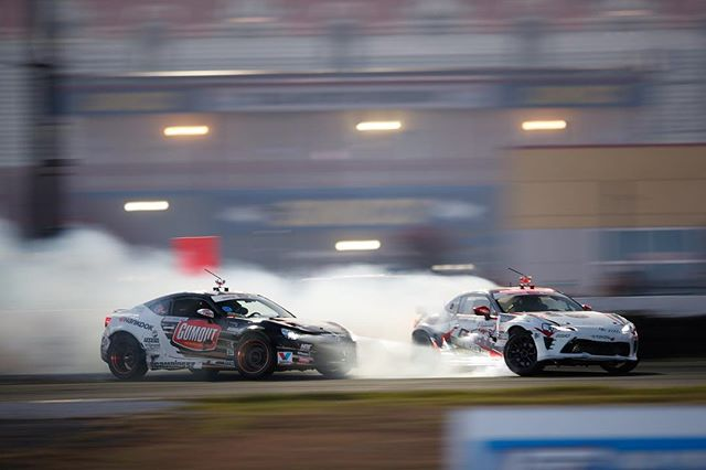 Battle of the @ryantuerck @kengushi @toyotaracing