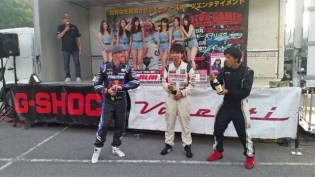 Celebrations at FDJapan round 4