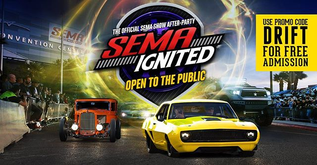 Get ready for SEMA Ignited!