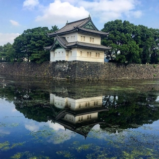 Good morning! #tokyo #imperialpalace #morningrun