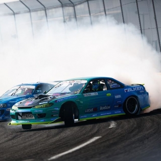 Hey @mattfield777 happy birthday! @falkentire #formulad #formuladrift
