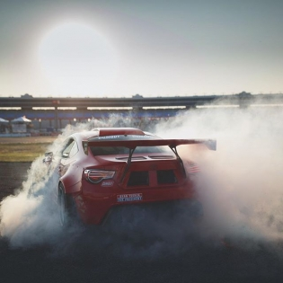 Just soaking up the sunset at #FDTX in the @gumout #GT4586