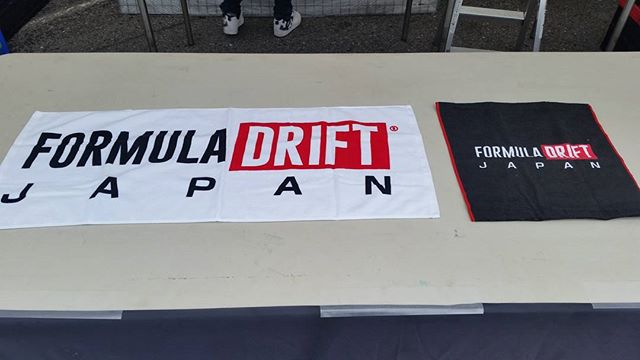 Much want, FDJ face and hand towels! Okuibuki Formula Drift Japan Round 4 starts tomorrow!