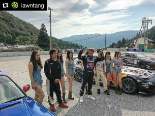 Repost @lawntang Congrats to @madmike.123 in 1st, Mekuwa in 2nd and Imamaeda in 3rd at @formuladjapan Okuibuki! Awesome event! #fdjapan #formuladrift #formulad #drifting