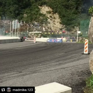 Repost @madmike.123 ・・・ Sums up today pretty much🏽 Up shifting like a 125 2 banger lands us at the pointy end for qualifying at @formuladjapan Okuibuki. Ready to rip Top32 tomorrow #1000hpEASY #HUMBUL #4rotor #TwinTurbo #RotangKlan  @wabbitslayer