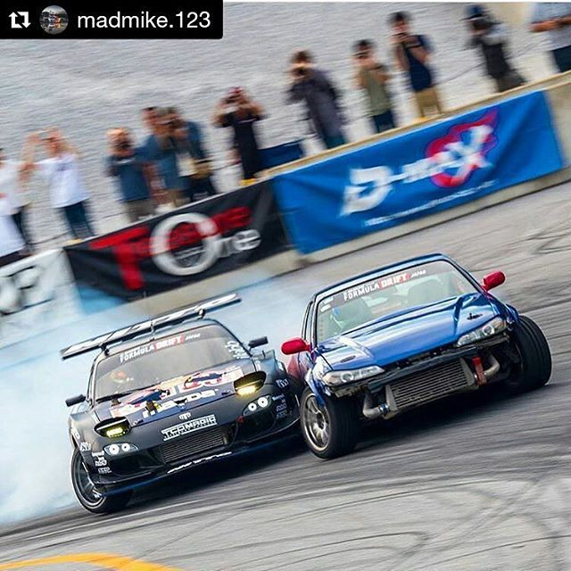 Repost @madmike.123 ・・・ Watch me throw down in the door bang'n to a win on the most badass track of the @formuladjapan season Vid link in my bio  @nob_motor