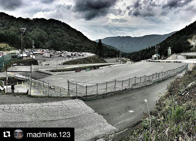 Repost @madmike.123 ・・・ Where touge meets pro Drifting! This is going to be freakn rad! @formuladjapan using the Okuibuki access road and car park to the ski resort that we came to last year to check out the locals running touge for filming my documentary! Tatemo tanoshimi desu