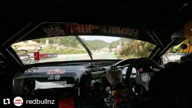 Repost @redbullnz ・・・ @madmike.123's qualifying run at Formula Drift Japan yesterday! 🤘🏼Tap the link in our bio to catch-up on the action. 😎 Finals are streamed live today on RedBull.co.nz from 1pm!