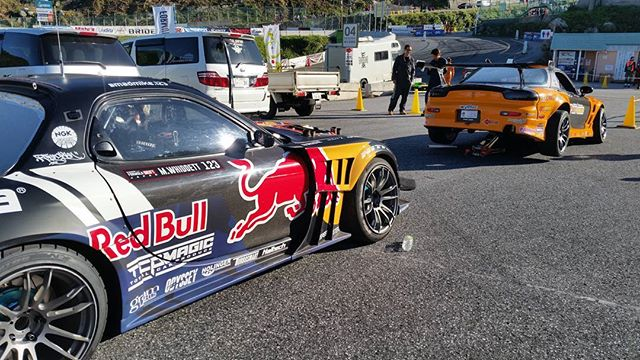 Rotor vs. rotor - Formula Drift Japan Round 4. Starts soon!
