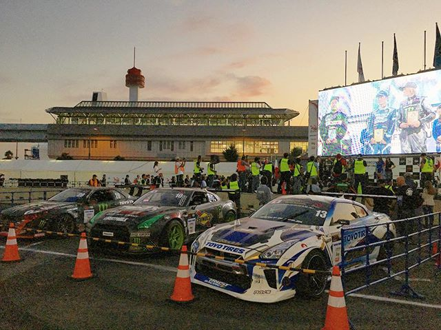 The first @fia_drifting_cup event is in the books! Congrats to @kawabata.jp in 1st, @daigo_saito in 2nd and @tsaregradsev_ark in 3rd!
