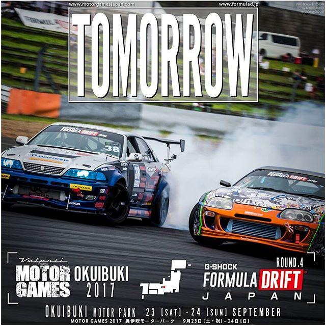 TOMORROW Formula JAPAN ROUND 4 奥伊吹モーターパーク 9月23日 [土]~24日 [日] Okuibuki Motor Park Sept 23+24