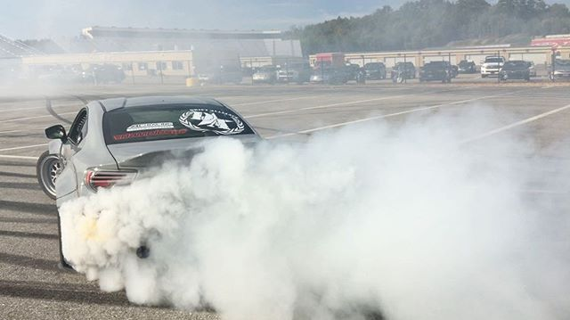 We out here at @nhms putting on a show for the @toyotausa New England 2018 launch. Having a blast in the #tuerckdstreetcar. Big thanks to @unicorngarage for keeping our going after each session.
