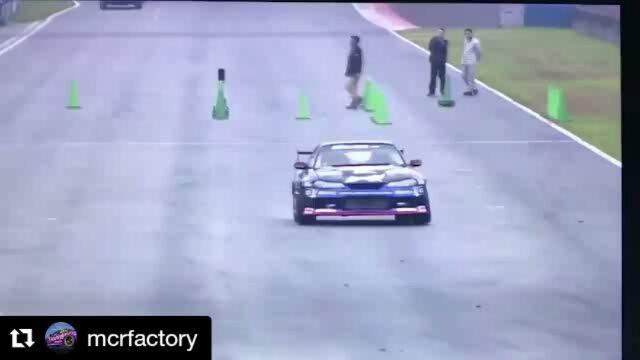Repost @mcrfactory ・・・ 単走優勝取ったど〜!!!!! ハーフウェットになって完全な満足な走りではなかったけど、この路面ではいい走りだったかな(^^) この調子で明日の追走も頑張れるぜぃ(o^^o)
