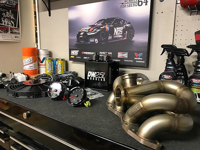 Parts are coming in everyday for the 510 build! Can't wait to dig into this build but first... let's burn some tires at Irwindale!