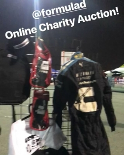 Don't forget about the @formulad eBay Charity Auction that ends tonight! All kinds of memorabilia, gift cards, trips, you name it! All of the money raised goes to the charities supporting the hurricane victims, so please be generous! Search for eBay user name FormulaDrift to see the over 100 items listed!!!