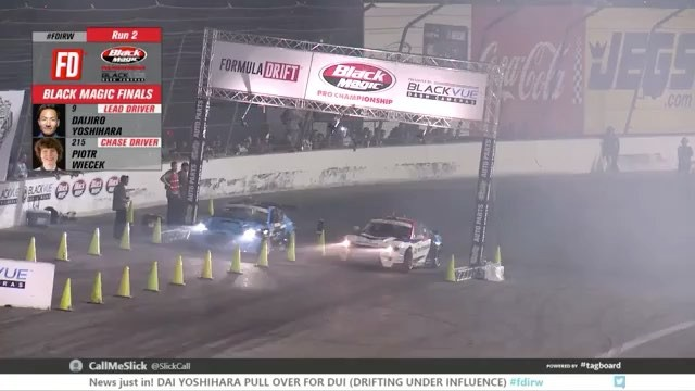 He's done it!  Piotr Wiecek takes the title at the House of Drift! Way to send the track out in style