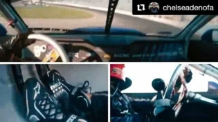 Repost @chelseadenofa ・・・ Video from the boys at @bcracingna from Irwindale practice. I'll be dropping my in-car qualifying run with telemetry soon!