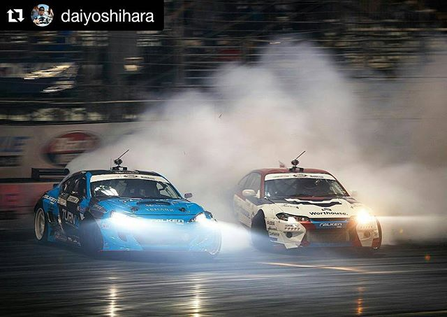 Repost @daiyoshihara ・・・ LAST run in the finals. LAST round of the season. LAST @formulad at Irwindale Speedway.  Going to really miss