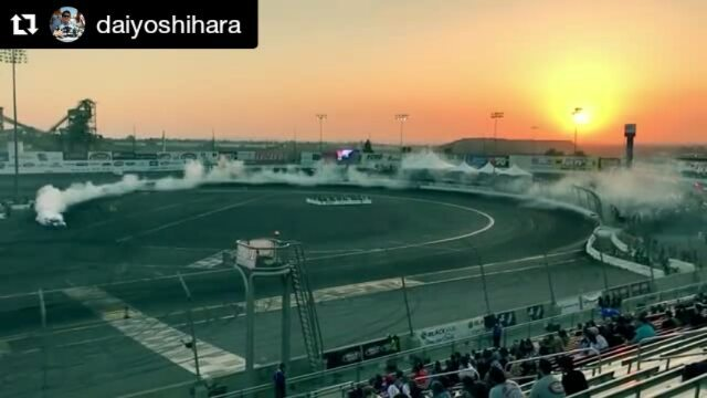 Repost @daiyoshihara ・・・ My first qualifying run from @formulad Irwindale last weekend. Changed the final gear after this run and got higher score on my 2nd run.  : @carterjung