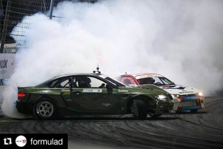 Repost @formulad ・・・ Fully locked! @hgkracingteam @achillestire | Photo by @larry_chen_foto #formulad #formuladrift #fdirw