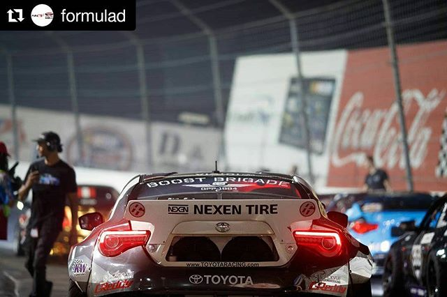Repost @formulad ・・・ When boost is life  @larry_chen_foto
