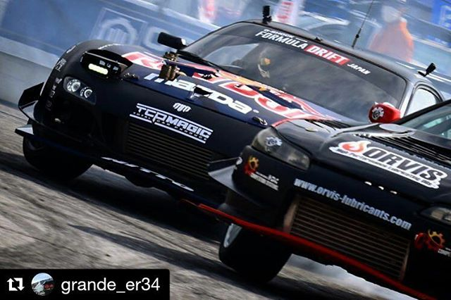 Repost @grande_er34 ・・・ ... 選手 Team Magic with RedBull FD3S RX-7