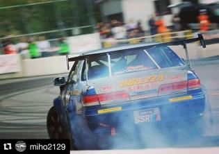Repost @miho2129 ・・・ #formuladriftjapan #okuibukimotorpark #jzx100 #jzx100mark2 #tadahirofukada