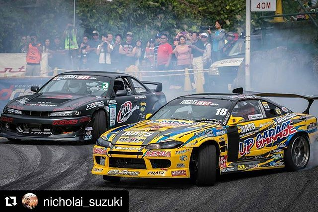Repost @nicholai_suzuki ・・・ FORMULA DRIFT JAPAN Round.4 at OKUIBUKI MOTOR PARK Photo by @nicholai_suzuki