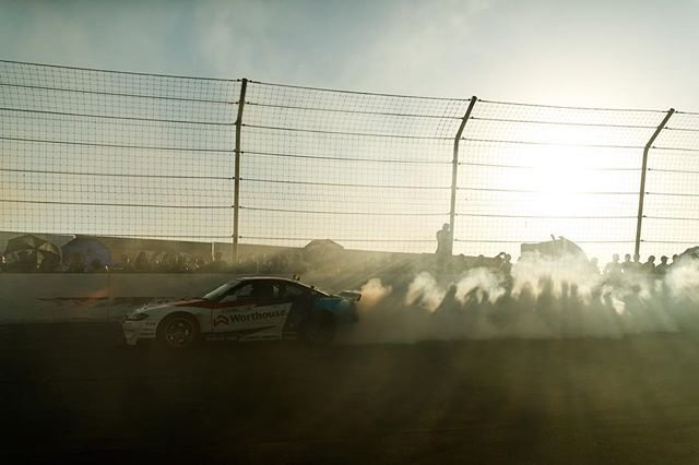 The champion @jamesdeane130 leaving his marks! @worthousedrift @falkentire   Photo by @larry_chen_foto