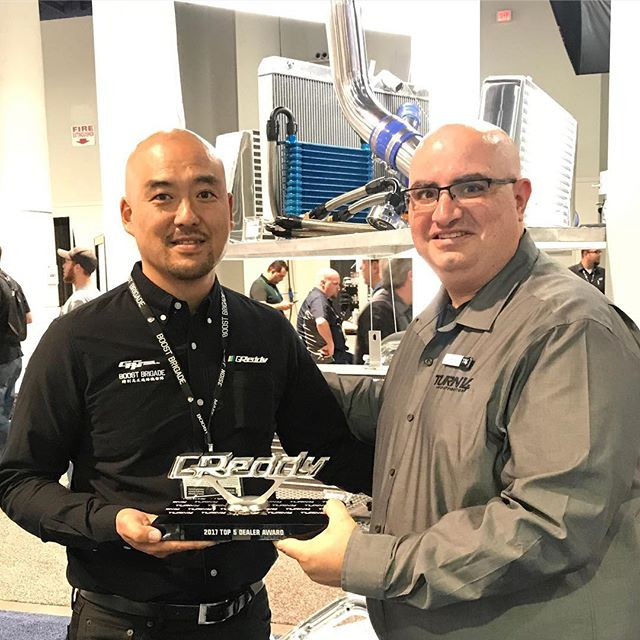 2017 Top 5 Authorized GReddy Dealer Awarded to @turn14 Distribution