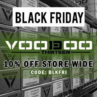 @voodoo13usa is knocking 10% off everything online through the weekend from their already great prices for the best suspension parts! All designed and built in the USA! #MadeInTheUSA