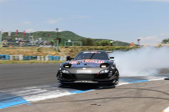 Ebisu Circuit 2017 - In the drift @ FORMULA JAPAN