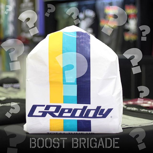 Look out for the #ShopGReddy.com to Specials on select items like Profec, FV BOV, Mag Drain/Oil Filter combo, Lug Nuts, Steering Wheel and Shift Knob package and more... and for the 1st time we will have & #BoostBrigade.com Mystery Bags at Super Low Prices!!! Go to ShopGReddy.com and Shop.BoostBrigade.com starting Thursday for Sales!!!! Sizes and packages are limited