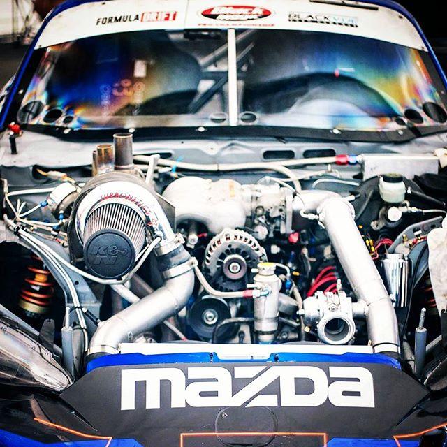 Make sure to check out our Formula Drift MX5 at tomorrow!  #nexentireusa # radium