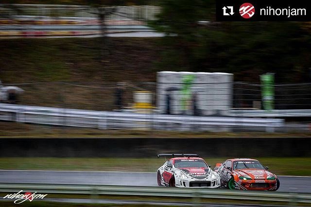 Repost @nihonjam ・・・ Part 2: @tomimotofilms challenged me to a panning shot battle. My submission of Minowa vs. Teramachi at @formuladjapan rd. 5 at @okayama_international_circuit .