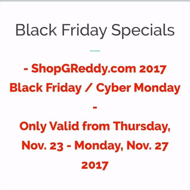 #ShopGReddy.com Specials are going quick... get yours now!