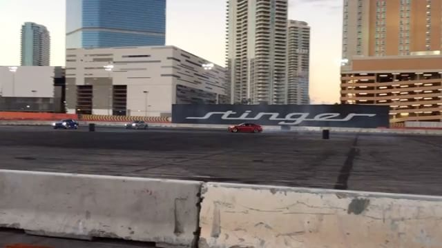 Some more @kiamotorsusa Stinger drift footy of @michaelessa, @powers_sucks and I from SEMA yesterday. : @jimliaw
