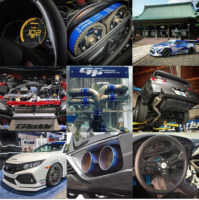 Thank you Instagram for the follow!  Here is a taste of 2017.  We are looking forward to more exciting products, projects and fun in 2018.  Don't forget to give our other official Instagram accounts a follow too... @teamgreddyracing, @boost_brigade, & @rocket.bunny.pandem