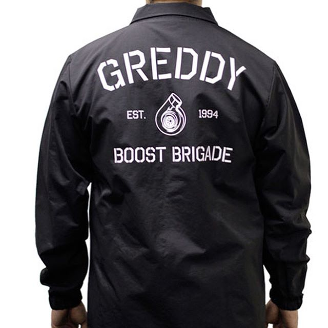 "The Original X @BOOST_BRIGADE ""G"" Coaches Jacket, back in stock on #ShopGReddy.com Sizes SM through 3XL"