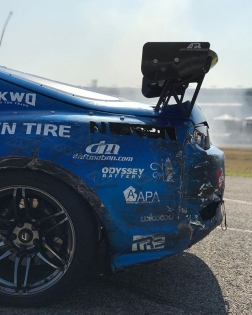 What do you think happened here? @raddandrift @nexentireusa #formuladrift #formulad