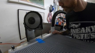 Good Enough! EP8 link in profile!  In this episode, we build a triple pass radiator out of a standard single pass. We show you the steps on how to cut and modify the radiator to redirect the flow of the coolant to gain more cooling efficiency! @mishimoto