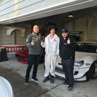 Got to visit Mr Miura @trakyoto today. discussing new projects for 2018!