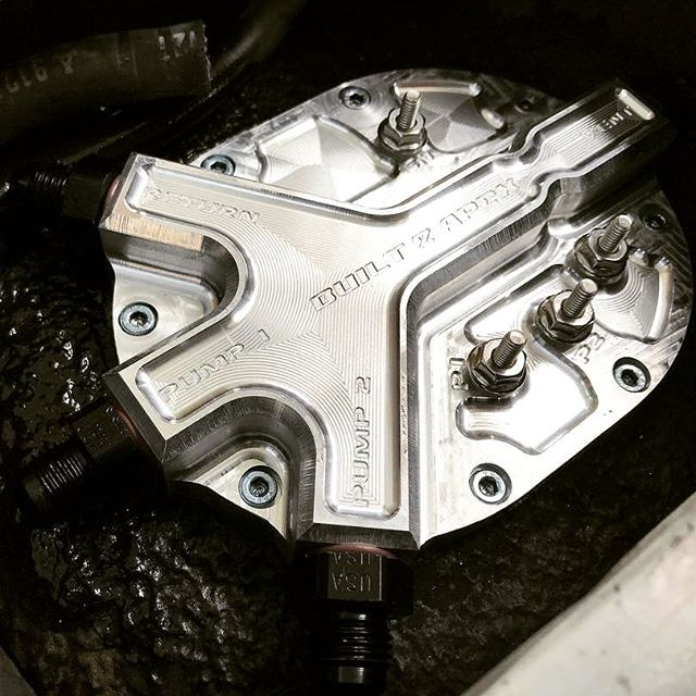 New from www.built2apex.com @built2apex(@repost_via_instant)They look pretty sweet installed! New FC and FD dual pump fuel systems available at www.built2apex.com  Starting @ $350.00+shipping. More fuel, oil, and air systems coming in 2018.