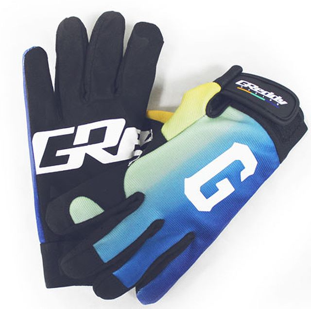 "New ""G"" Mechanic Gloves - Gradient Fade and Black.  Now available on #ShopGReddy.com"