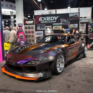 Nice picture from SEMA 2017. #kylemohanracing #Repost @staticacademy_(@repost_via_instant)That colour doe! - Owner: @kylemohanracing 📸: @marcuslfoto . #StanceMob #SM #staticacademy --------------------------------