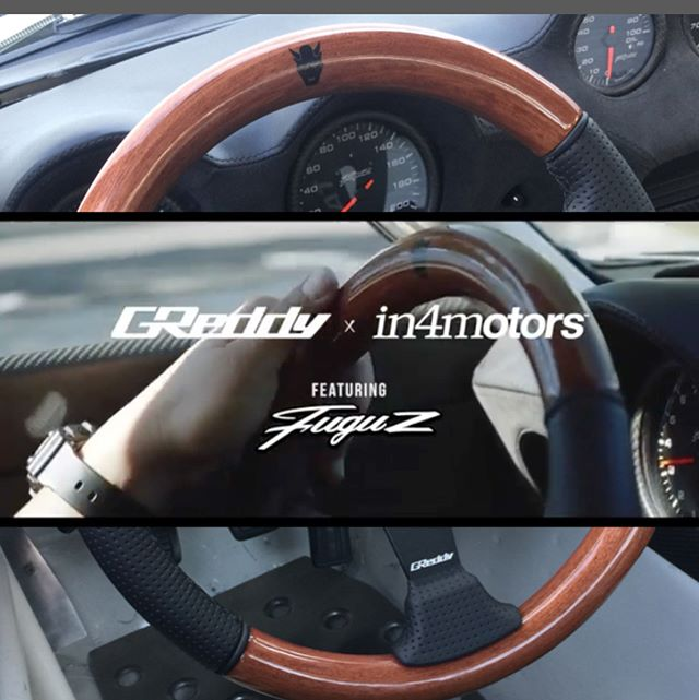 Our final batch of X Wood / Leather Steering Wheels are now available on #ShopGReddy.com.  Get one before they are gone!  p/n 16500203 MSRP $260.