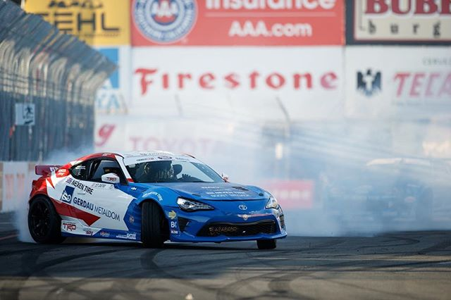 Tag someone who's going to the Formula DRIFT Long Beach event | @jcastroracing : @larry_chen_foto