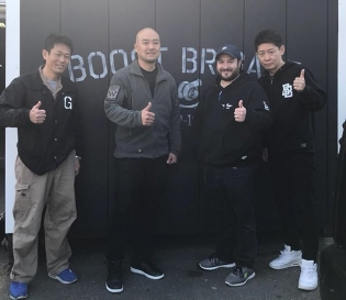 thank you for taking great care of us while we were in Kyoto. @carstylejapan and @new_west8000 #JDMBoostBrigade #teamええな