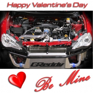 ️ Happy Valentine's Day! #BeMine ️ #GReddy #Scion #FRS #GTXR Tuner Turbo Kit