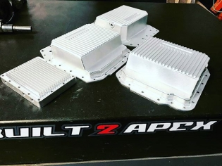 @built2apex #kylemohanracing Pictured: FD Race Pan Low Profile FD Race Pan Billet FD Trans Pan All available at www.built2apex.com #oil #system #transmission #billet #aluminum #race #baffle #trapdoor #cnc #fins #cooling #efficient #madeinusa #b2a #built2apex